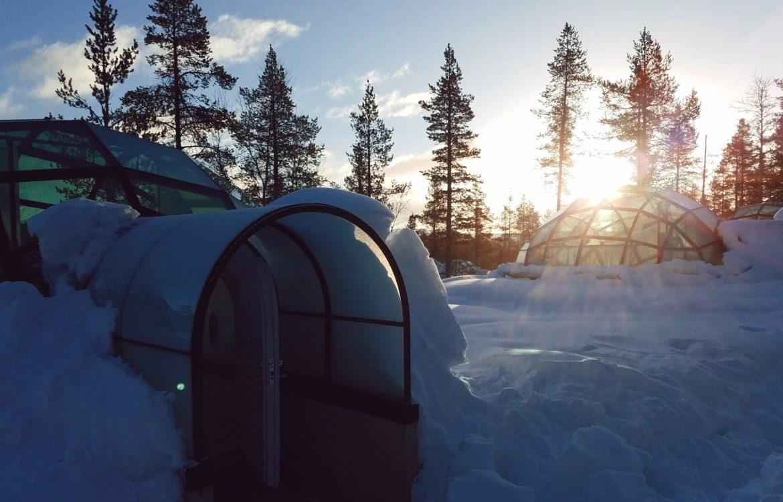 les h bergements insolites la montagne en hiver. Black Bedroom Furniture Sets. Home Design Ideas