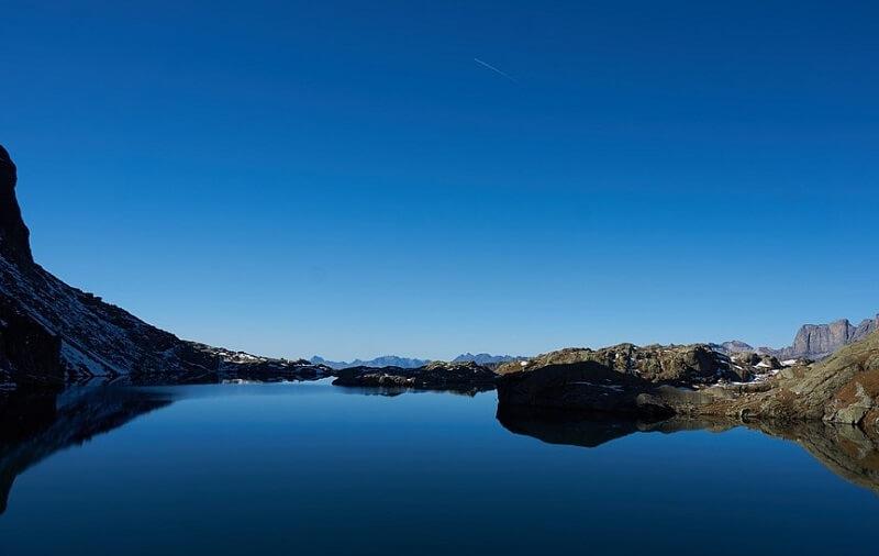 Le lac du Brévent sur la commune de Chamonix