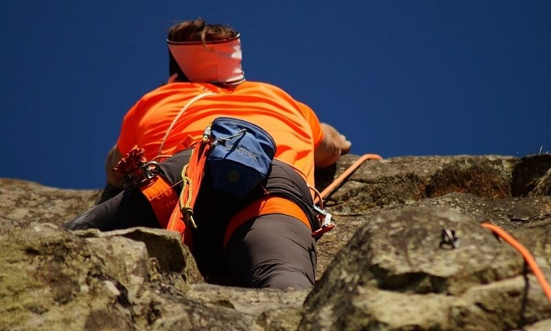 Pratique de l'escalade à Chamonix