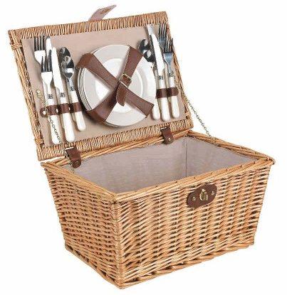 Panier de picnic en osier