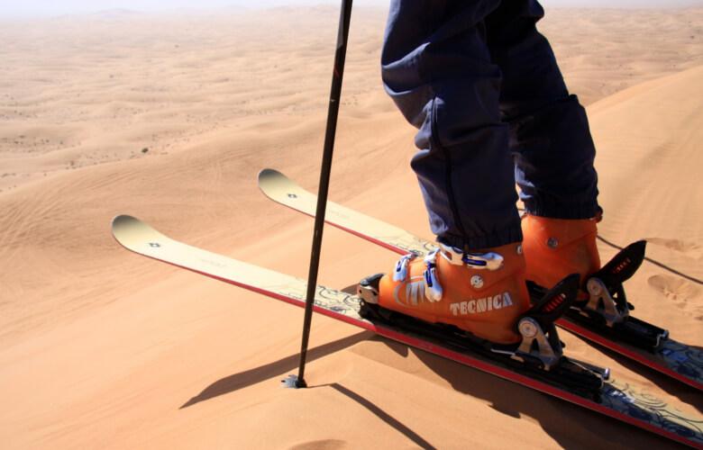 Survivre à l'été sans skier