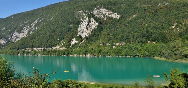 Lac d'Aiguebelette, en Savoie