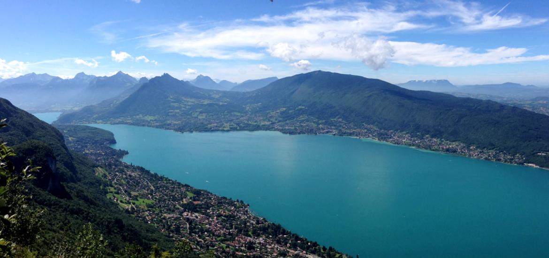 Lac d'Annecy, en Haute Savoie
