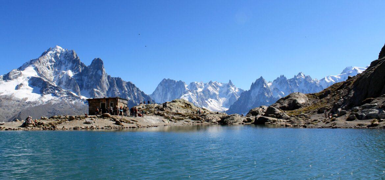 Lac Blanc, en Haute Savoie