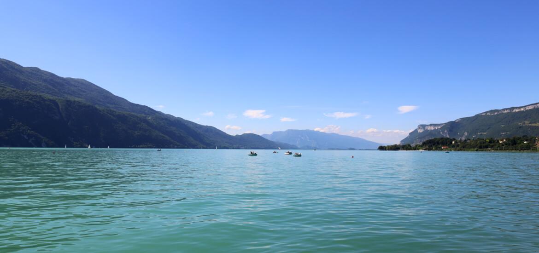 Lac du Bourget, en Savoie