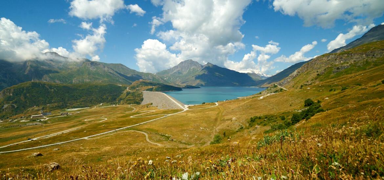 Lac du Mont Cenis, en Savoie