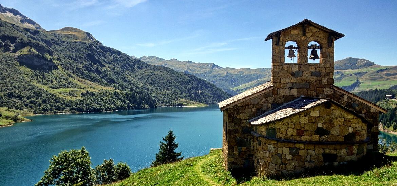 Lac de Roselend, en Savoie