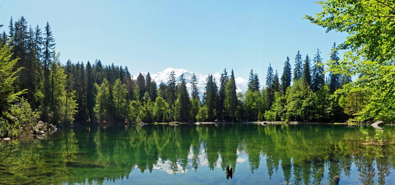 Lac Vert, en Haute Savoie