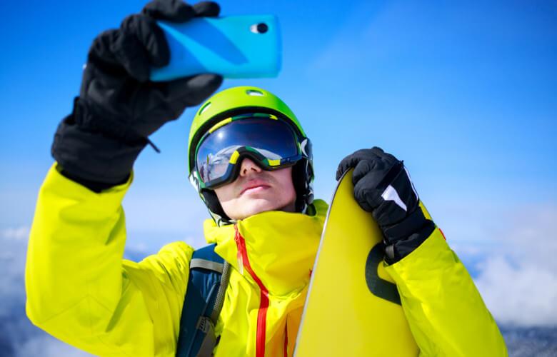 Application ski pour smartphone