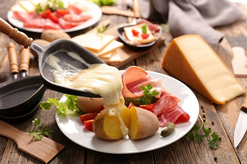 Raclette- fromage savoyard