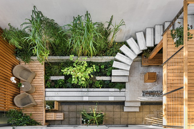 cloisonnement de terrasse et jardin