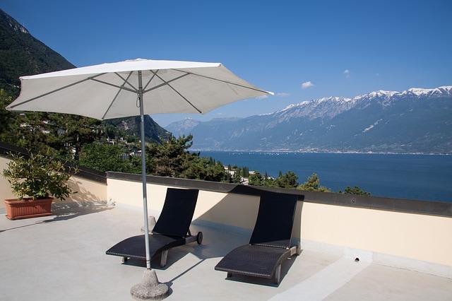 parasol pour terrasse et balcon
