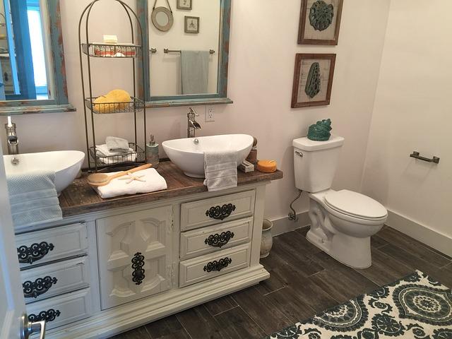 Plan vasque relooker ancien moderne