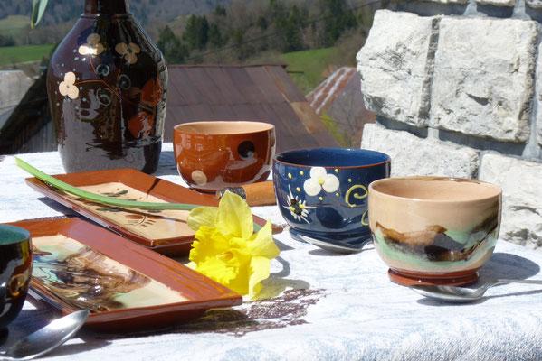 poterie en terre cuite savoyarde