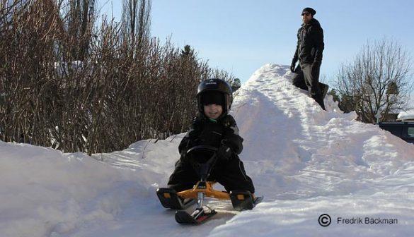 Yooner ski bobo les alternatives à la luge
