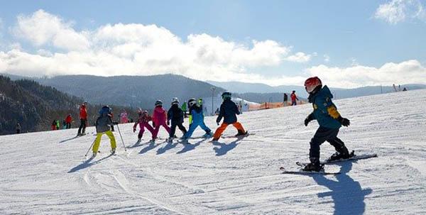 cours de ski enfants ESF