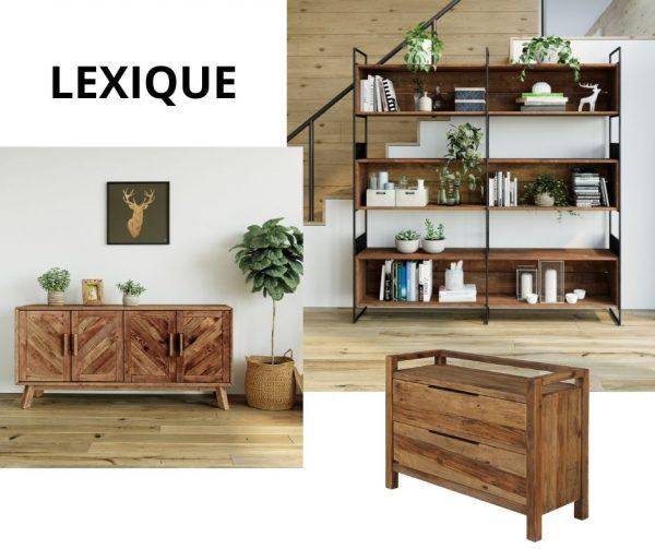 Les meubles de rangement